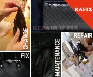 財布修理・鞄修理・バック修理のRAFIX